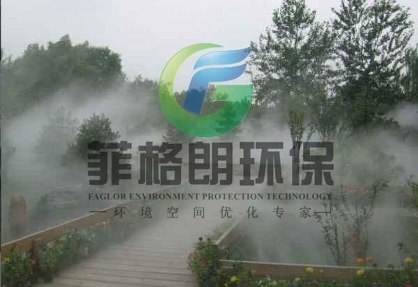 汕尾海丰新城和樾景观造雾工程