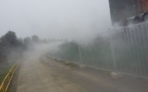 建筑工地喷雾除尘