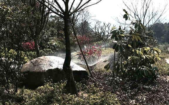 云浮禅泉大酒店园林喷灌工程
