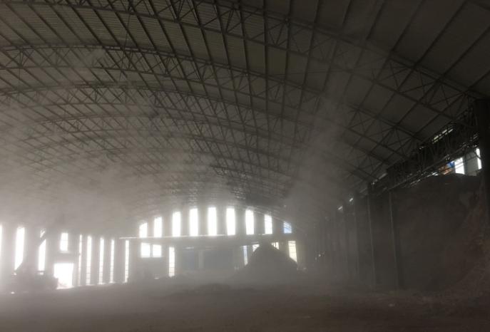 堆料车间专治粉尘的喷雾降尘设备