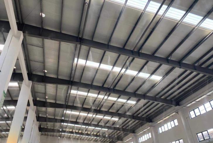 建筑工地降尘降温设备―工厂车间降尘