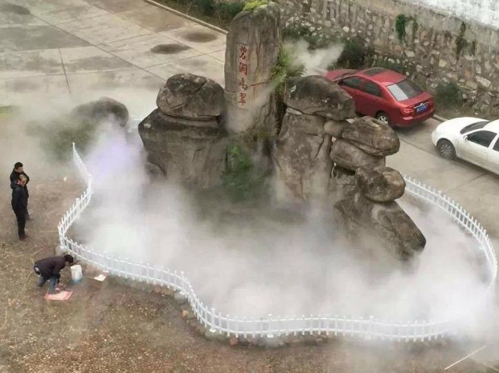 景观小区造雾案例展示