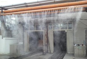 污水处理站喷雾除臭设备