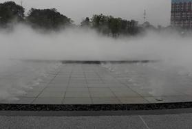 江西国家级萍乡玉湖公园景观喷雾工程
