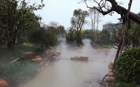 惠阳牧云溪谷汉溪景观喷雾系统