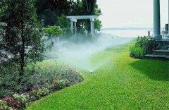 园林灌溉花草喷灌喷淋