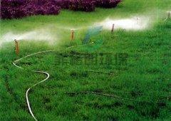 园林灌溉花草喷灌田地喷淋