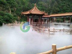 景点人造雾降温园林景观造雾机