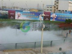冷雾喷泉设备系统的应用范围
