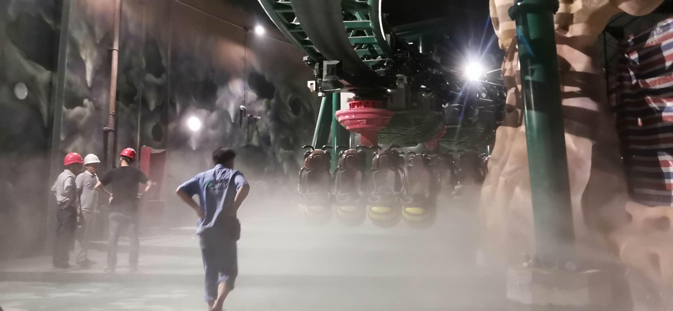 广州花都万达旅游城雾化系统