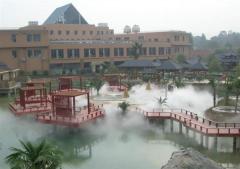 人工湖景观喷雾设备人造雾工程