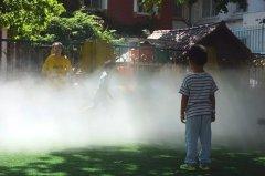园所人造雾森给孩子一个更梦幻和健康的童年